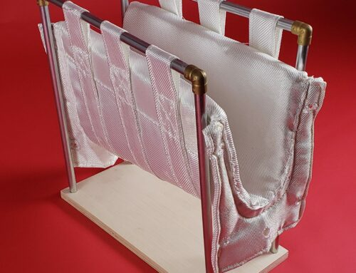 ZIRCAR Ceramics offers Flexible Alumina Textile Type AS-7M launders for Molten Aluminum Applications